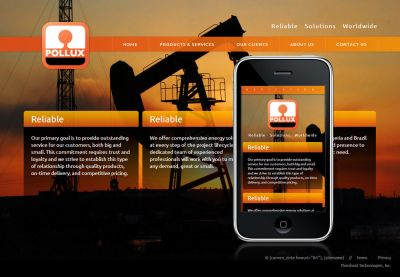 Pollux Energy Solutions Website